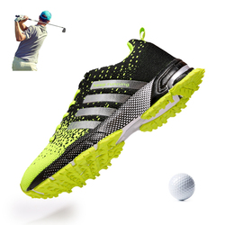 Men Golf Shoes Breathable Summer Outdoor Grass Walking Sneakers Professional Golf Sneakers Man Business Leisure Shoes Golf