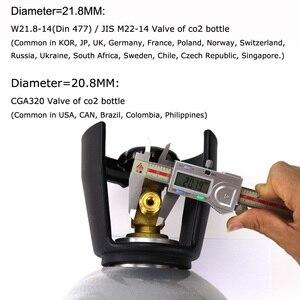Image 5 - Mới Soda Dòng SodaStream/Soda Câu Lạc Bộ Bên Ngoài Co2 Xe Tăng Adapter Và Vòi Bộ W21.8 14 Hay CGA320 W/nhanh Chóng Ngắt Kết Nối