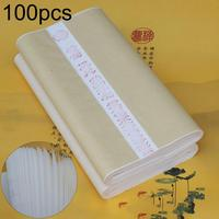 100Pcs 50x100cm Chinese Painting Calligraphy Draw Rice Xuan Paper Stationery School Supplies Medium Thickness