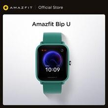 Reloj inteligente Amazfit Bip U, reloj inteligente resistente al agua hasta 5atm, con pantalla a Color y control del sueño para Android iOS y teléfono