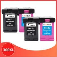 4PK 300XL Cartridge for hp 300 XL for hp300 Ink Cartridge for hp Deskjet D1660 D2500 D2560 D2660 D5560 F2420 F2480 F2492 printer