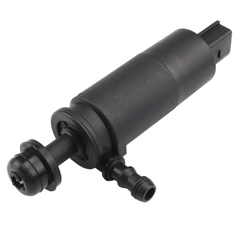 Kafa ışık far yıkayıcı pompa kiti BMW için Fit E46 E90 X5 E60 E65 E66 X3 67128377430 siyah