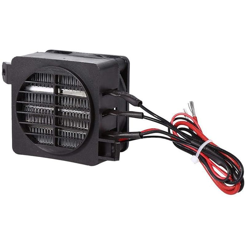 Air Heater Fan for Small Room Space Car Heater Portable Fan Heaters (12V 100W)