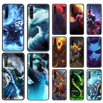 Phone Case For OPPO A9 Realme Reno 6 C3 7 5 X7 X50 Pro 5G XT V3 X3 2020 Silicone Soft Capa Back Cover dota 2 logo 1