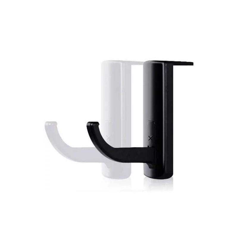 Black Headphones' Stand Universal Headphone Headset Hanger Wall Hook PC Monitor Earphone Stand Rack Holder Rack TSLM1