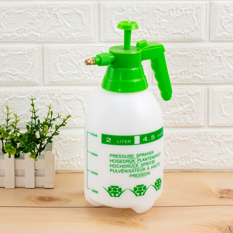 2Pcs Sprayer Bottle Multiple-Combination Hand Pressure Trigger Sprayer Adjustable Air Compression Spray Bottle Watering Can 2-Pc-1