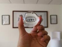 Lente bola cristal K9 transparente 60 80mm bola de cristal para sanación esfera accesorios de fotografía de prueba Bola de lente bolsa de embalaje de franela gratis