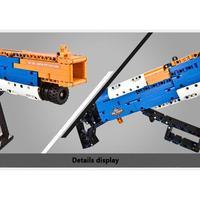 2019 HOT 506PCS 4D Rifle Assembly DIY Model Jigsaw Puzzle Soldier Weapon Gun Toys Boys Toy Gun