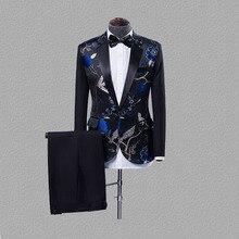 Dressv размера плюс красные черные мужские костюмы джентльменский стиль тонкий пиджак+ брюки подходят свадебные костюмы для мужчин 2 шт