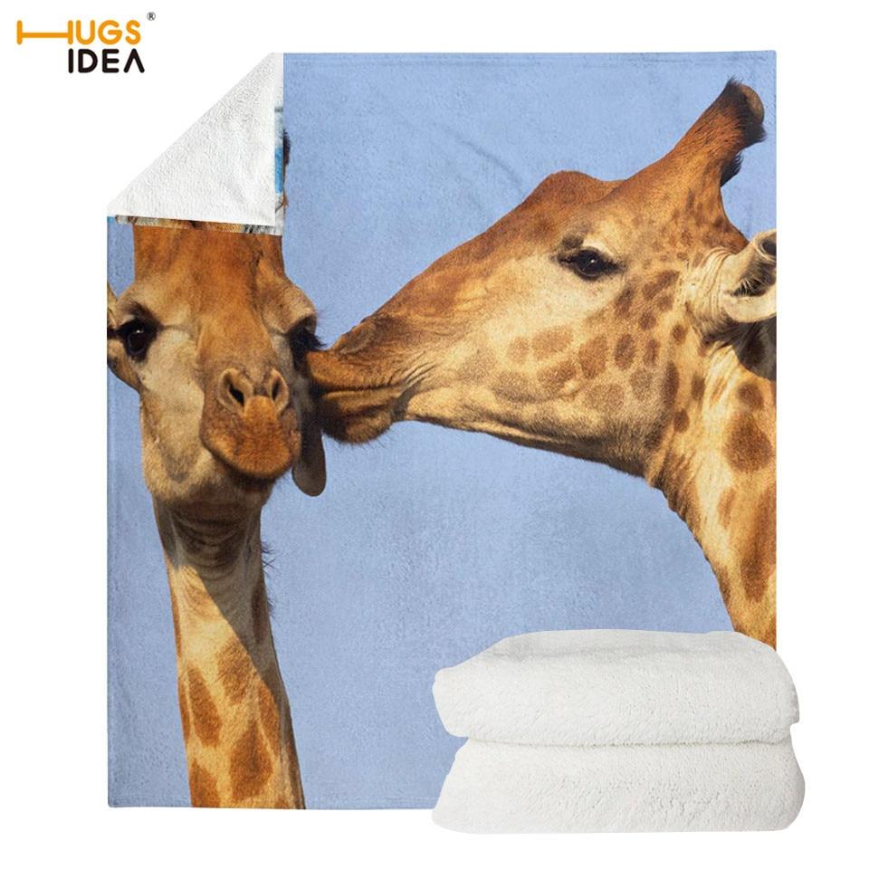 Giraffe Selfie Picture Novelty Bedding Pillowcase