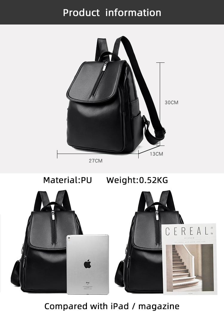 mochila escolar casual para mulheres mochila de