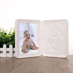 Европейский стиль новорожденный младенец руки и ноги Inkpad пластиковые творческие декоративные рамки напрямую от производителя продажи