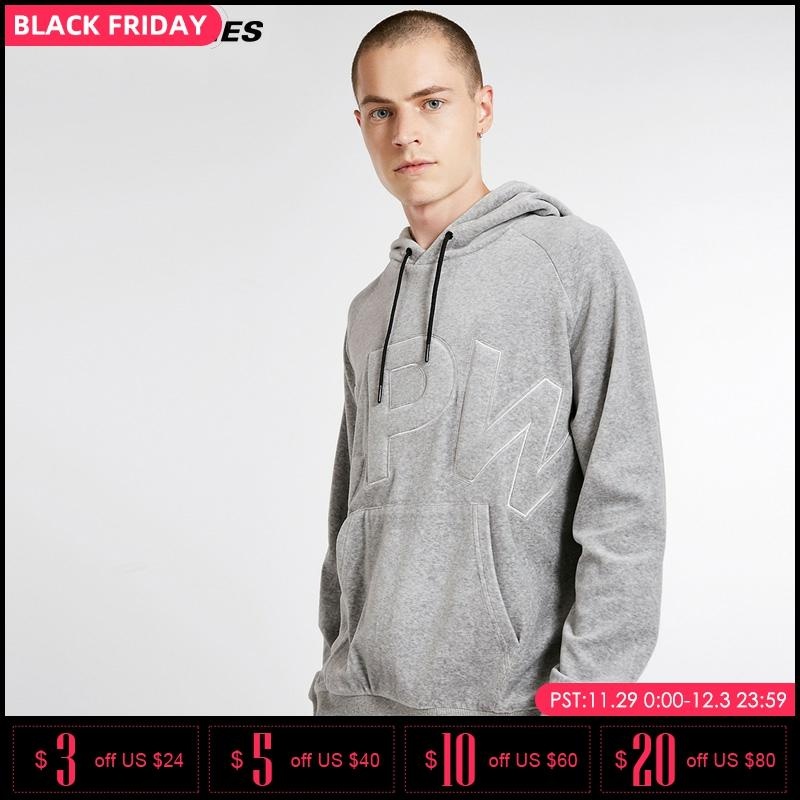 Jack Jones Mens Pure Color Printed Letters Leisure Hoodies Sweatshirt |218333553