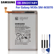 Samsung Original Replacement Battery EB-BM207ABY For Samsung Galaxy M30s SM-M3070 Authentic Phone Battery 6000mAh цена 2017