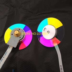 Image 1 - 90291FA 01 NEW COLOR WHEEL FOR OPTOMA DS316L HD26 HD141X DH1008 DH1009 GT1070 GT1080 PROJECTOR