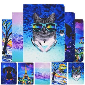 For Amazon HD8 HD 8 Case Cartoon Cat Thin Leather Cover For Amazon Kindle Fire HD8 HD 8 Plus 2020 2018 2017 2016 8.0 Cover Case россия hd8 1005 pf стопка
