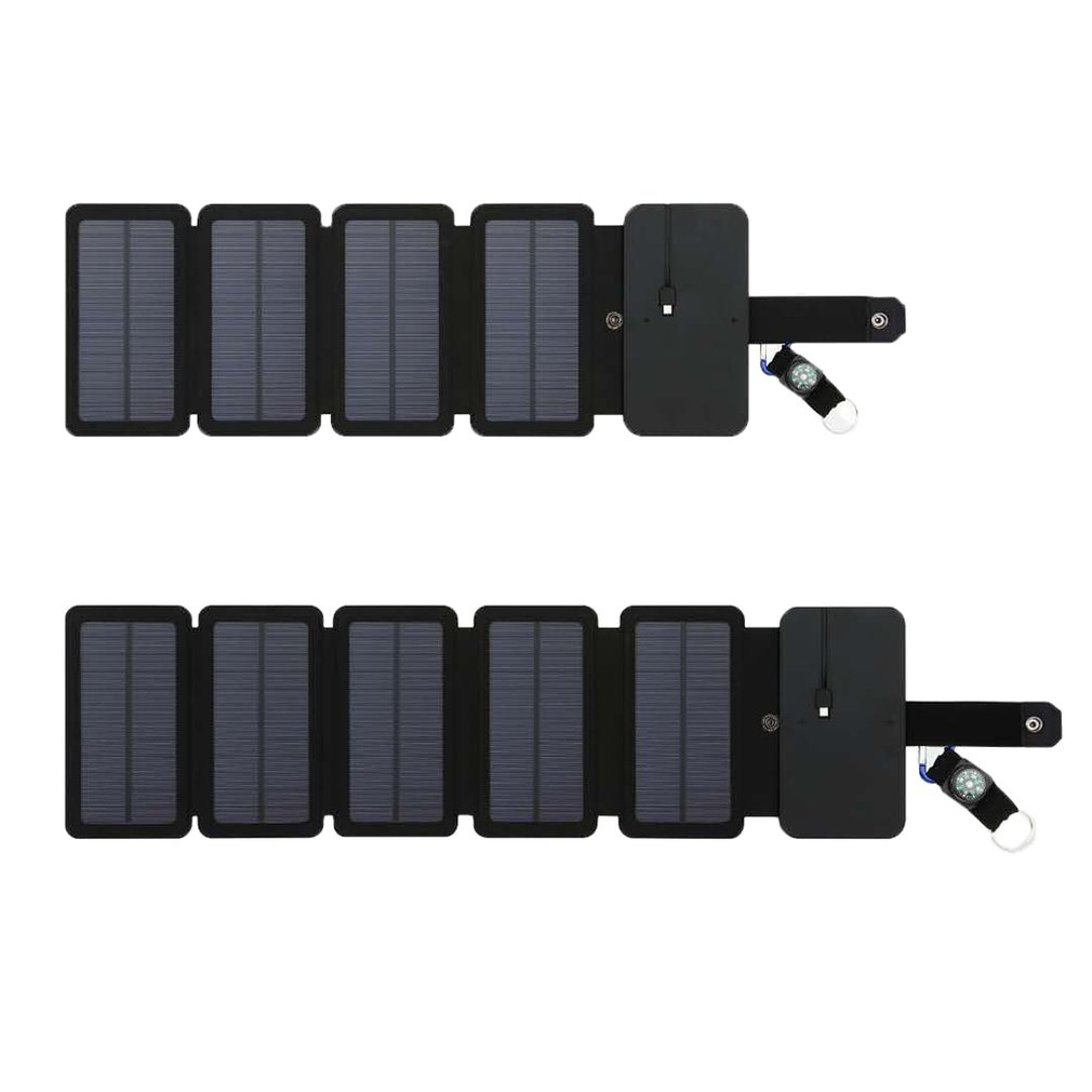 Solar Panels 8W Folding Sunpower Charger Large Capacity Power Bank Universal Portable Phone Charger Tourism External Battery|Generator Parts & Accessories|   - AliExpress