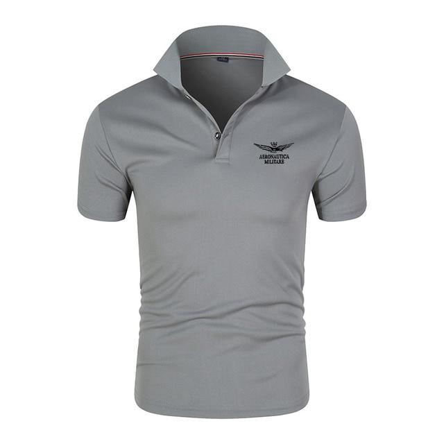 2021 Brand New Men's Polo Shirt High Quality Men's Cotton Short Sleeve Shirt Brand Clothing Summer Casual Fashion Polo Shirt Top 2