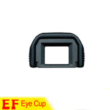 Rubber Eye Cup EF Viewfinder Eyecup Eyepiece,for Canon EOS 100D 550D 500D 450D 700d 750d 600d 760d 800D, DSLR Camera Accessories(China)