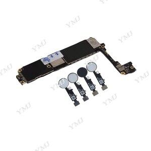 Image 4 - Placa base para iphone 7, 32GB, 128GB, 256GB, 4,7 pulgadas, con Touch ID/sin Touch ID, placa Original desbloqueada