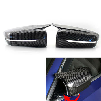 Hot Sale FOR BMW G30 G20 2017-2020 M Style Carbon Fiber Replacement Side Wing Mirror Cove image
