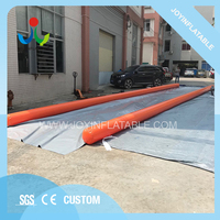 Exciting Inflatable Slip N Fly Water Slide