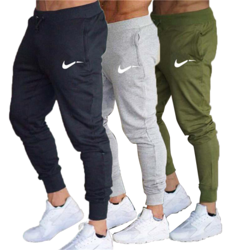 Men Running Pants Basketball Football Training Pants Sports Fitness Hiking Mountaineering Suit Jogging Sweatpants Men's