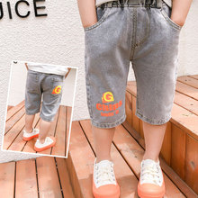 Jeans Kids Shorts Trousers Baby Boy Summer Denim Thin Stretch 2-6year Staright