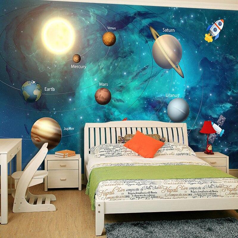 3D-Wallpaper-Space-Universe-Children-Room-Starry-Sky-Planet-Wallpaper-3D-Stereo-Cartoon-Mural-Papel-De (4)