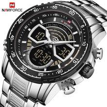 Новые naviforce 9189 мужские военные спортивные наручные часы