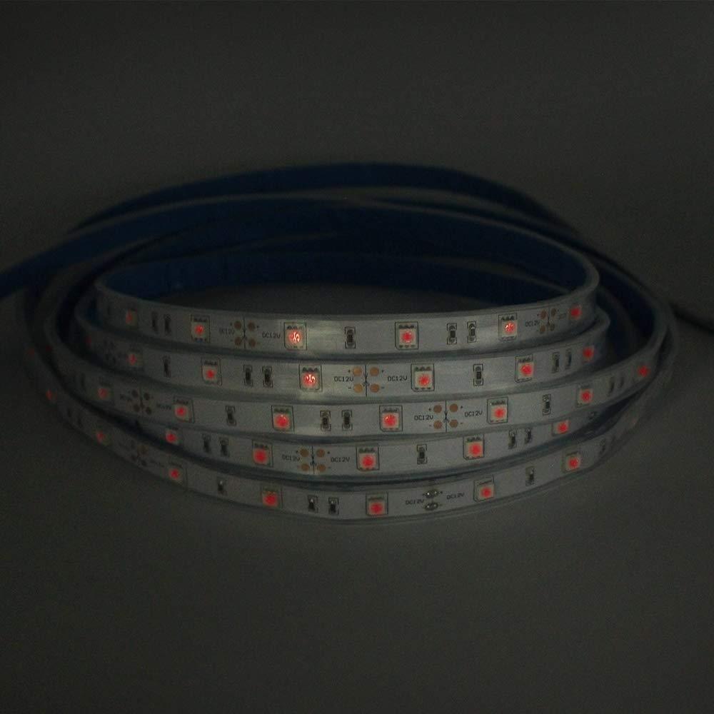SMD5050 150 Flexible à trois puces IR LED ampoules LED s, cinq mètres DC12V, pour l'affichage multitouch, pour la Version nocturne ou la sécurité - 3