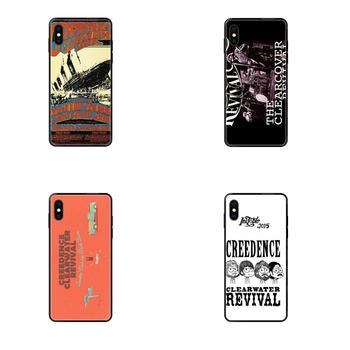 For Redmi 3S 4X 4A 5 5A 6 6A 7 7A 8 8A 8T 9 9A K20 K30 S2 Y2 Pro Plus Ultra Soft Pattern Phone Creedence Clearwater Revival image
