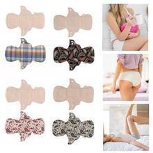 Menstrual-Pad Panty-Liner Cloth Sanitary-Napkin Hygienic Washable Women Feminine Skin-Friendly
