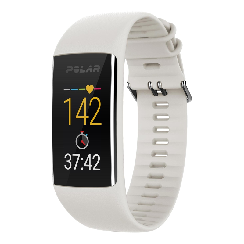 Heart rate monitor and daily activity POLAR A370 WHI M/L