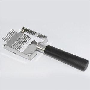 Инструменты для пчеловодства улей, мед резак, скребок для снятия укупорки, пластиковая ручка, скребок для сот, оборудование для снятия укупо...