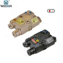 WADSN エアガンラ PEQ 15 戦術 Weaon 懐中電灯赤色レーザー IR PEQ-15 Softair 狩猟ライト銃照明