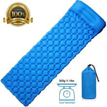 Rooxin Camping karimata nadmuchiwany materac materac dmuchany grubość Camping Mat poduszka do namiotu Outdoor Hiking Backpacking Travel tanie tanio Obóz tpu1 Zewnętrzna pompa inflator one person Waterproof Moisture proof