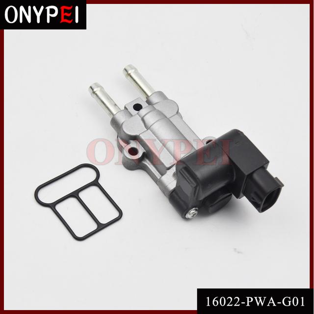 Zawór IAC kontroli biegu jałowego 16022-PWA-G01 16022-PWA-901 JK136800-1950 dla Honda Jaz 16022PWAG01 16022PWA901 tanie i dobre opinie ONYPEI CN (pochodzenie) standard Direct Replacement Idle air control valve For Honda 1 Year High quality