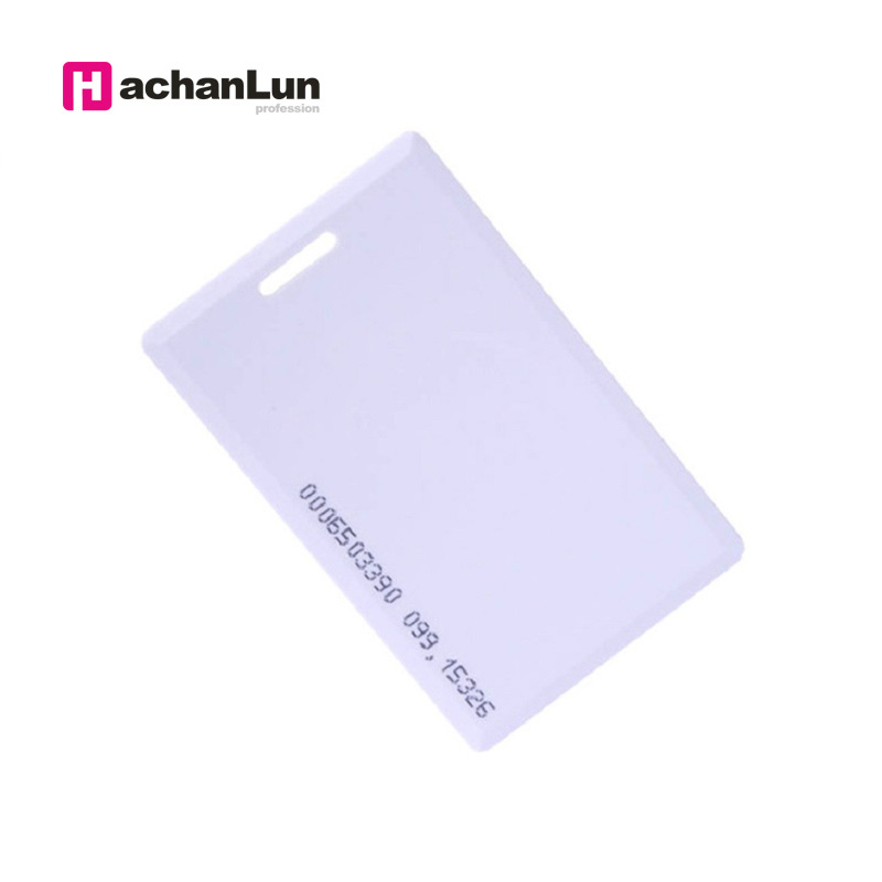 5PCS RFID Access Control Smart Chip Card EM / TK4100 Attendance Authorization Thick Card 125KHZ Token Electronic Tag