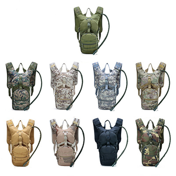 Sports Backpack Shoulder Tactical Waterproof Outdoor Hiking Cycling Camouflage