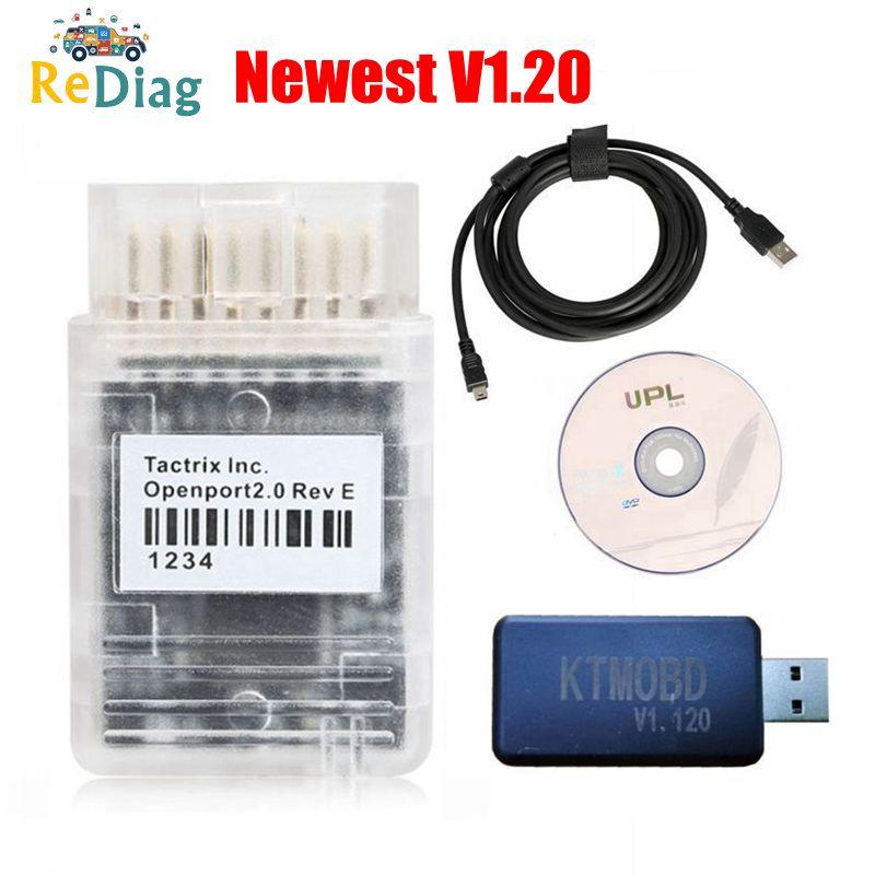 Newest KTMOBD V1 95 1 20 ECU Tool Openport J2534 Transfer Stable Real Reading KTM OBD USB Dongle KTMBENCH FLASH EMT ECU Master