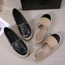 Autumn New Fisherman shoes Women Flats Casual Loafers Shoes Canvas Hemp Women Shoes Comfortable Mules Women's shoes