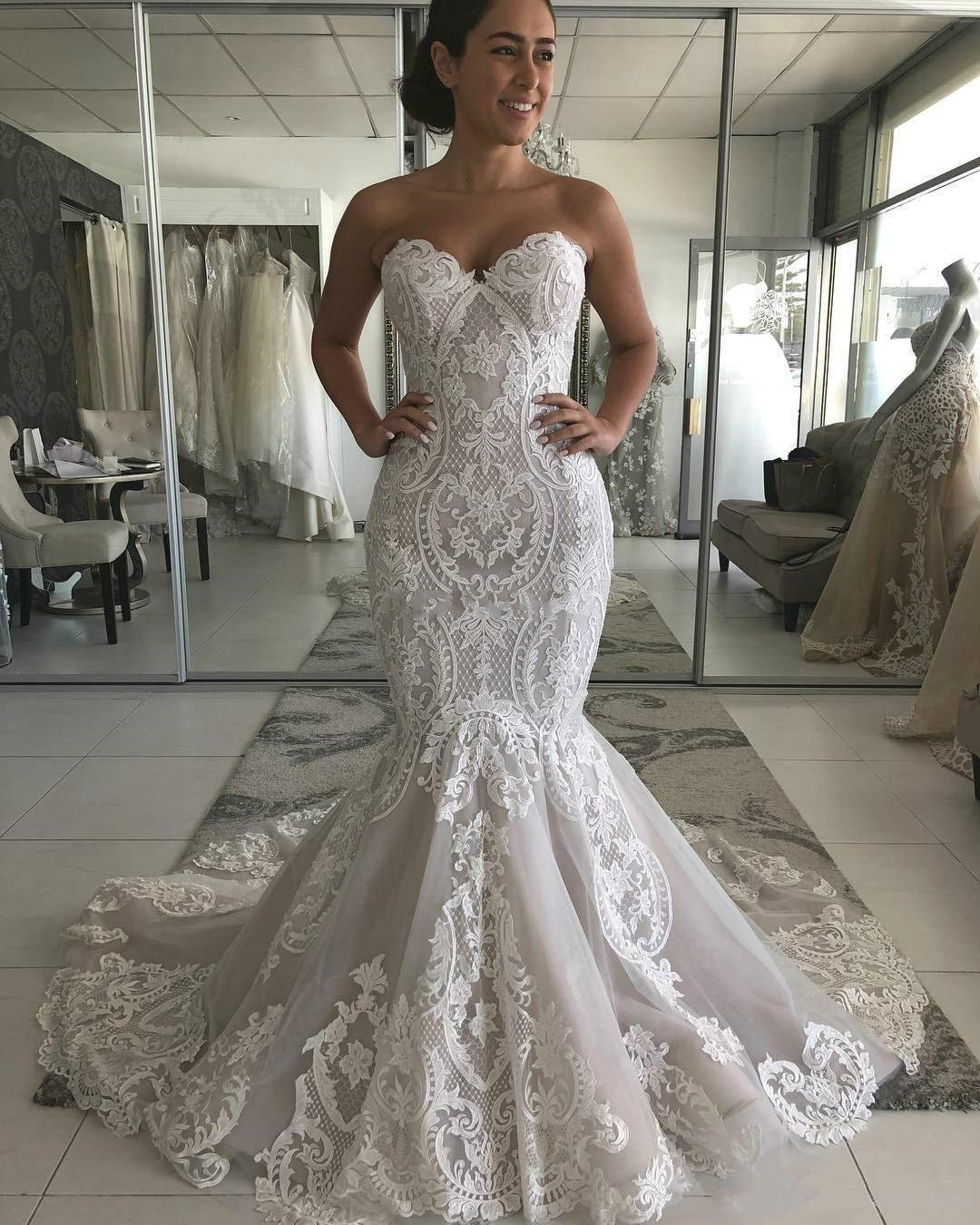 Mermaid Wedding Dress 2020