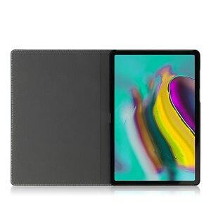 Image 4 - Étui de protection en cuir véritable pour tablette, pour Samsung Galaxy Tab S5E 10.5 T720 T725 SM T720, SM T725, 10.5 pouces