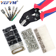 Crimp Terminals 2.8/4.8/6.3mm SM2.54 XH2.54 Insulated Male Female Wire Connector Electrical SN-48BS/48B/2549 Pliers Tools Kit