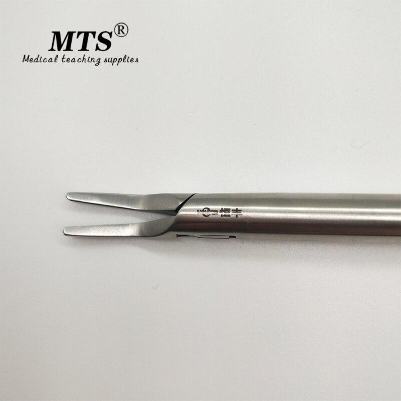 Купить с кэшбэком Medical Surgical equipment Laparoscopic Metal titanium clamp Vascular ligation forceps Ligation clip