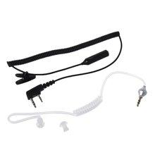 2 контактный ptt mic гарнитура для 35 мм воздуха Акустическая