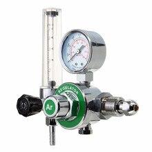 Medidor de flujo Tig argón CO2 Gas Mig medidor de soldadura regulador de soldadura para soldador CGA580 apto