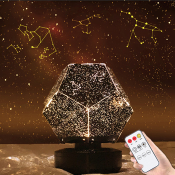 Sky Projector Star Light Projector Starry Children Night Lights LED Galaxy Lamp Nebula Nightlight Gift For Kids Bedroom Table image