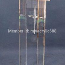 Роскошная дешевая прозрачная акриловая Трибуна, акриловая подиумакриловая подставка из оргстекла